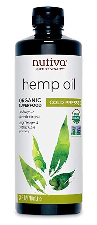 Nutiva Organic, Cold-Pressed, Unrefined Hemp Seed Oil