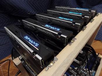 GPU mining rig