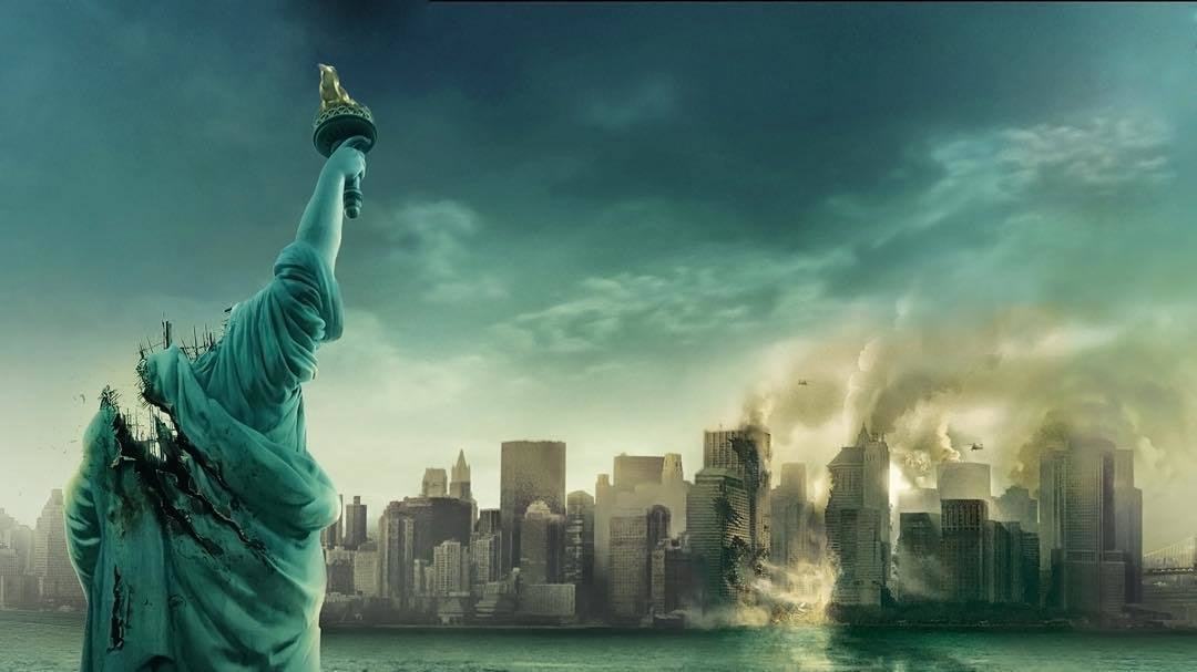 """The poster for """"Cloverfield."""""""