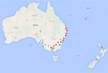 Tesla Superchargers Australia