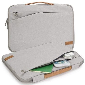 KINGSLONG Laptop Sleeve Case Ultra-Slim Padded Laptop Computer Pouch Bag