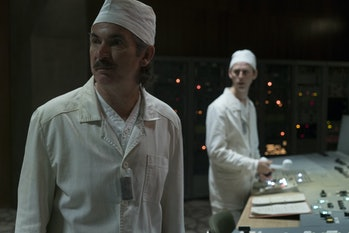 Paul Ritter asAnatoly Dyatlov in 'Chernobyl' on HBO.