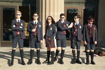 netflix umbrella academy ben horror