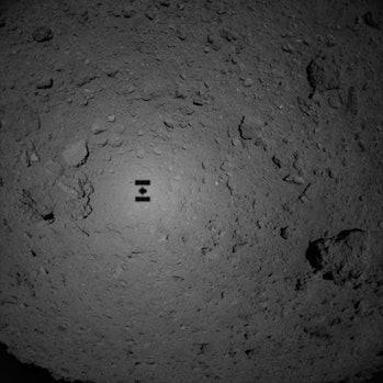 hayabusa2 landing on asteroid