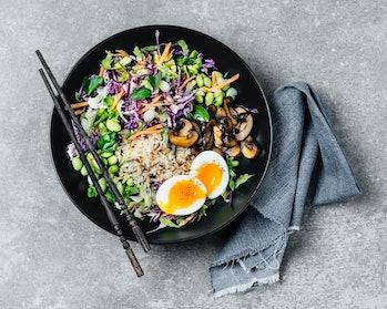 vegetarian diet rice