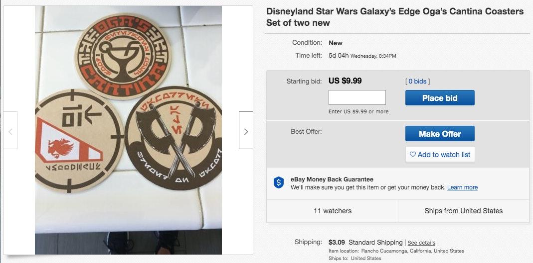 Star Wars Galaxy's Edge eBay