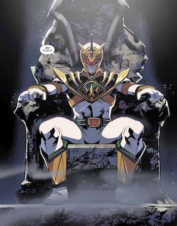 Power Rangers Lord Drakkon Comics