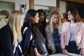 The cast of 'Pretty Little Liars'