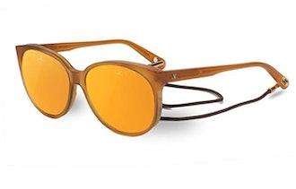 Vuarnet VL160900042124 Amber Frame Mirrored Sunglasses