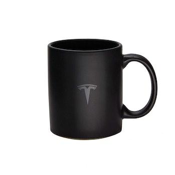 Tesla Matte Black Mug