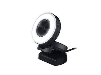 Razer Kiyo Streaming Webcam: 1080p 30 FPS / 720p 60 FPS - Ring Light w/ Adjustable Brightness - Built-in Microphone - Advanced Autofocus