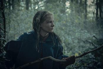Freya Allan as Ciri in 'The Witcher'