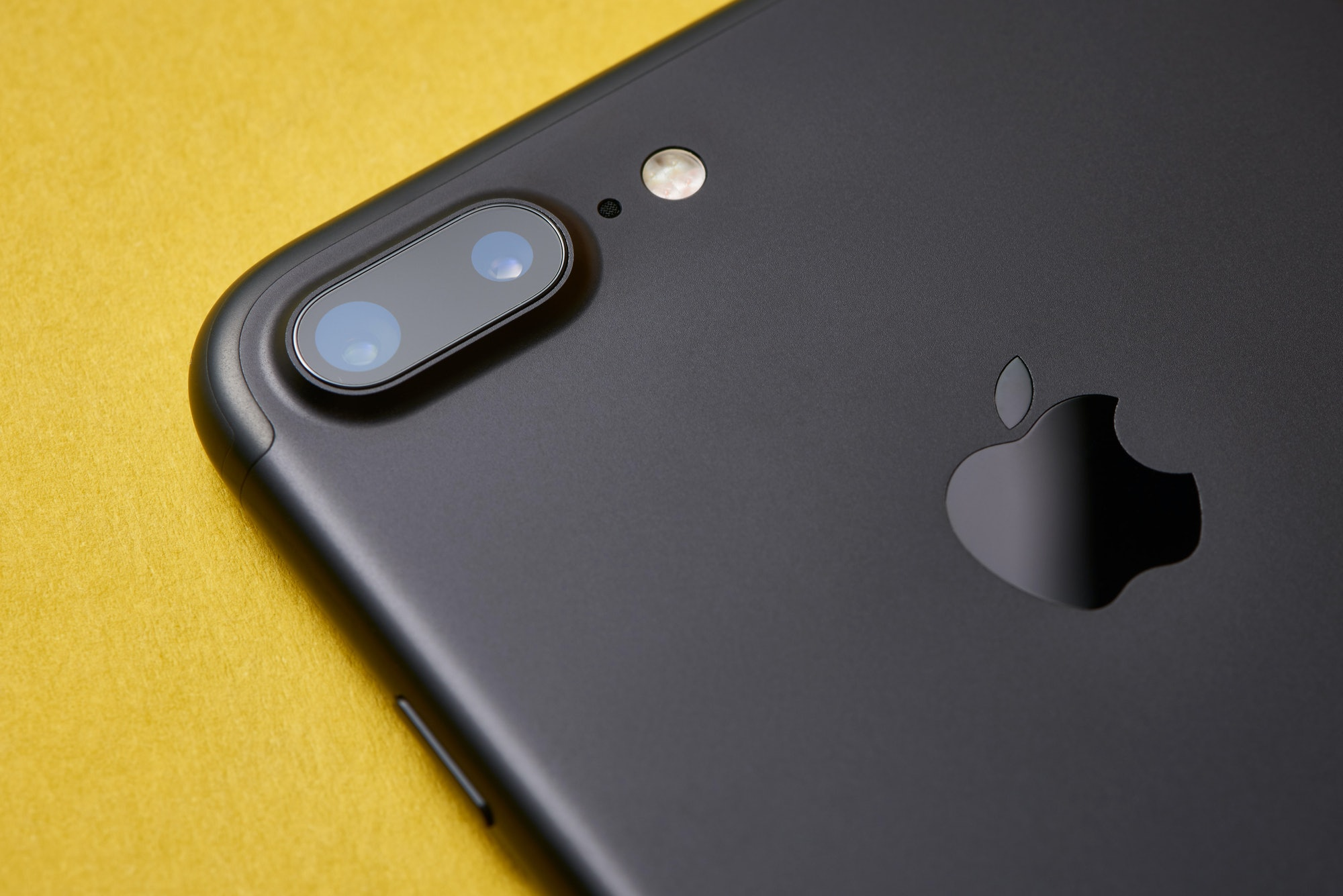 The iPhone 7 Plus' dual-lens camera.