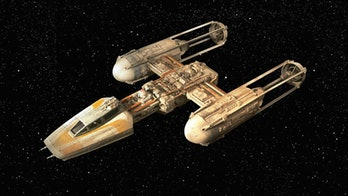 Y-Wing in 'A New Hope'