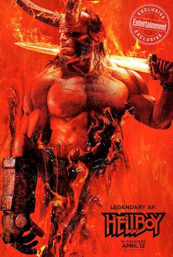 'Hellboy' poster