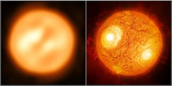 Antares star