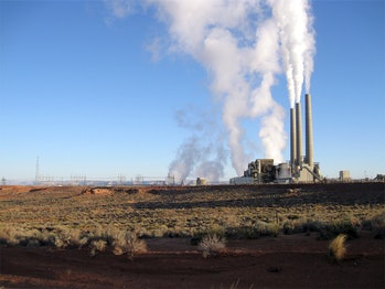 A coal-fired power plant located near Page, Arizona.
