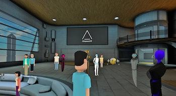 AltspaceVR room