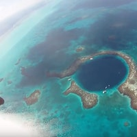 Great Blue Hole: Cousteau and Branson to Map World's Largest Sinkhole
