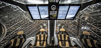 Crew Dragon interior seats