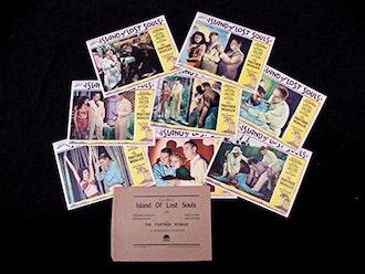 Island of Lost Souls Mint Card Set