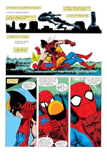 Spider-Man Wolverine Marvel