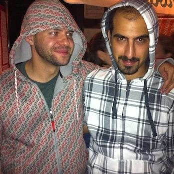 Jon Phillips (@rejon) & Bassel Safadi (@basselsafadi) in Warsaw #ccsummit2011