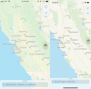 ios 12 developer beta maps