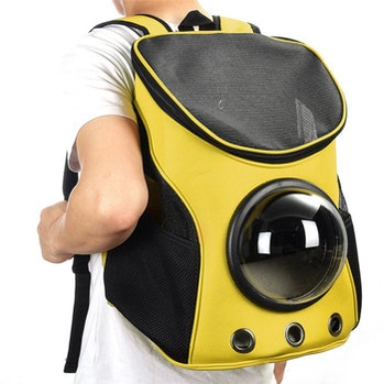 Breathable Astronaut Pet Cat Puppy Carrier Travel Bag Space Capsule Bag