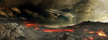 BENNU'S JOURNEY - Early Earth