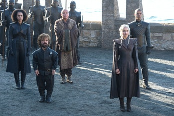 Emilia Clarke and Peter Dinklage in 'Game of Thrones' Season 7