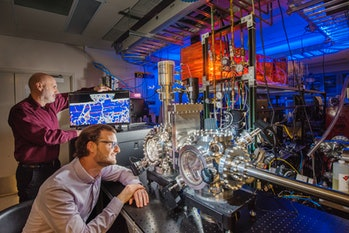 Sandia National Laboratories Michael Chandross Nicolas Argibay ultrahigh vacuum tribometer friction wear metals gold platinum