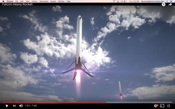 Falcon Heavy Rocket Elon Musk CEO SpaceX Launch Date