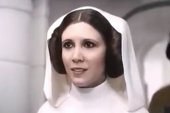 CGI young Princess Leia in 'Rogue One'