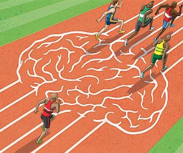 athletics, run