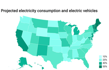 projected electricity consumption map