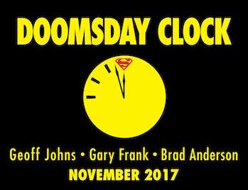 DC Doomsday Clock Superman Watchmen