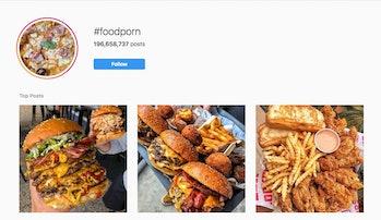 foodporn instagram