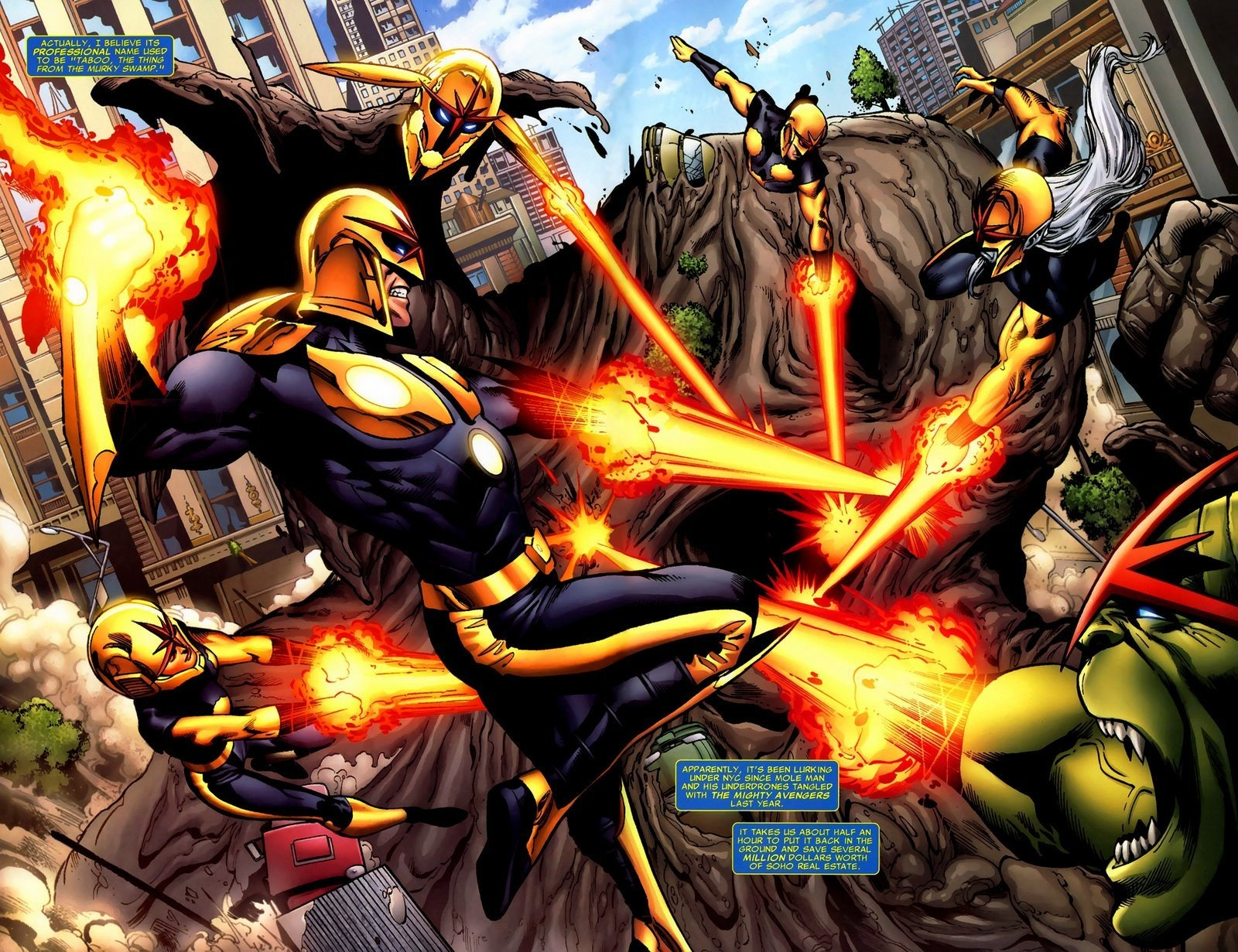 A Guide to Marvel Comics' Nova Corps for the Upcoming 'Standoff ...