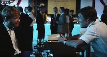 Agent Schafer recruits Barry.