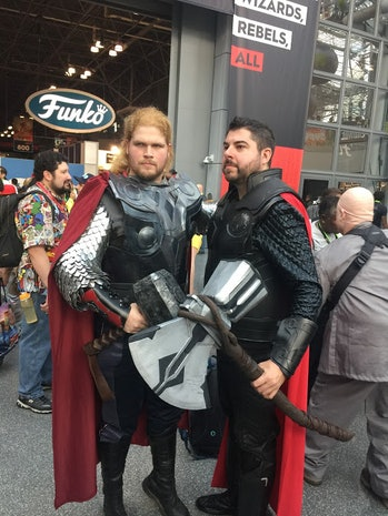 nycc 2018 cosplay thor