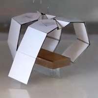 Self-folding kirigami robots will curl up in the face of disaster