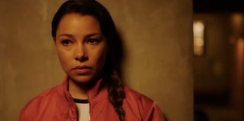ActressJessica Parker Kennedy plays the Mystery Girl in Season 4 of 'The Flash'