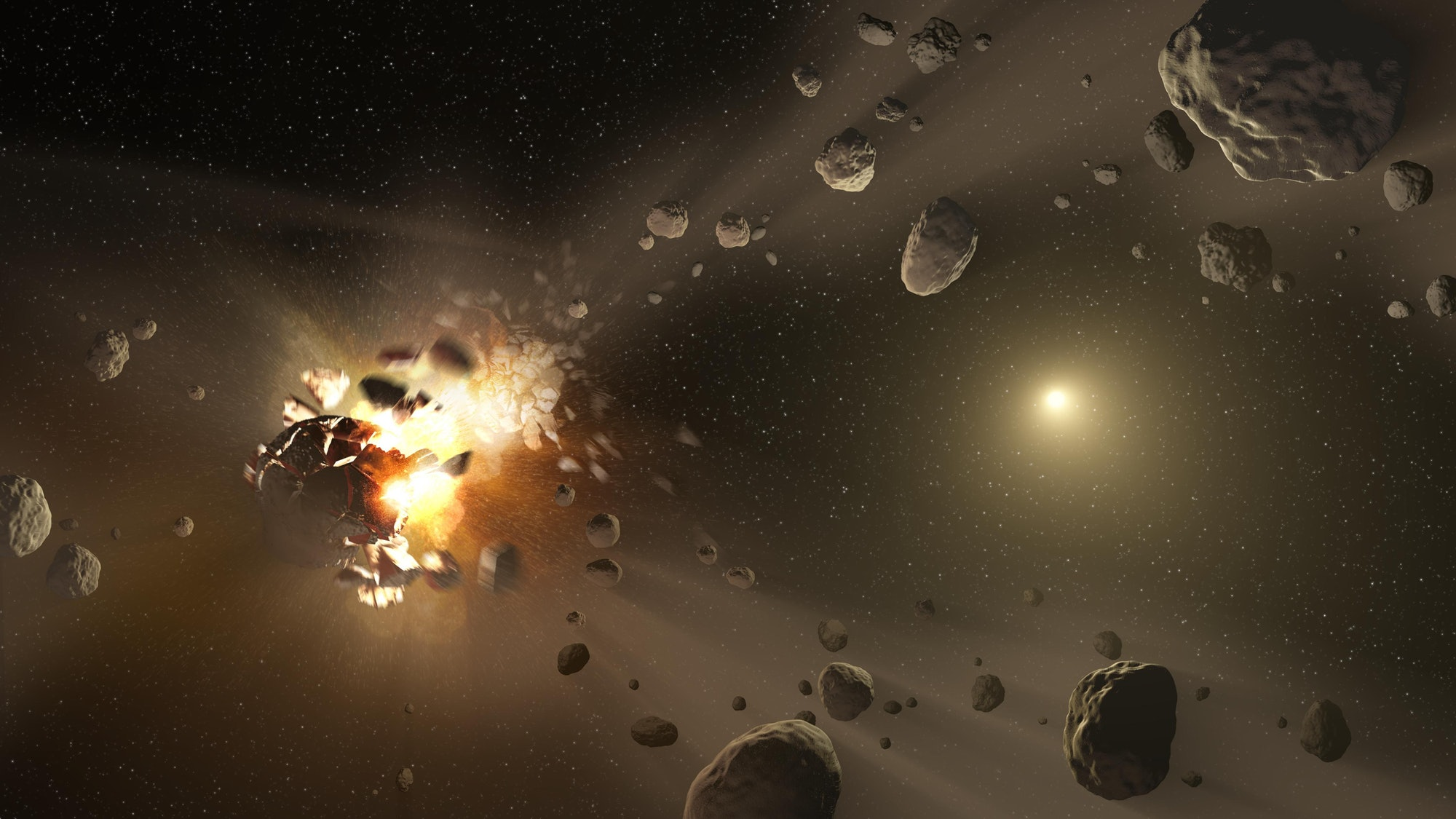 asteroid formation family