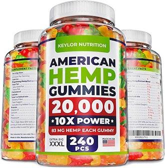 Keylor Nutrition Hemp Oil Gummies
