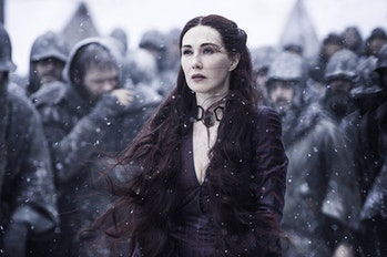 Melisandre (Carice Van Houten) on 'Game of Thrones'