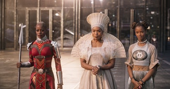 Queen Mother Ramonda and Princess Shuri made their debut in 'Black Panther'.