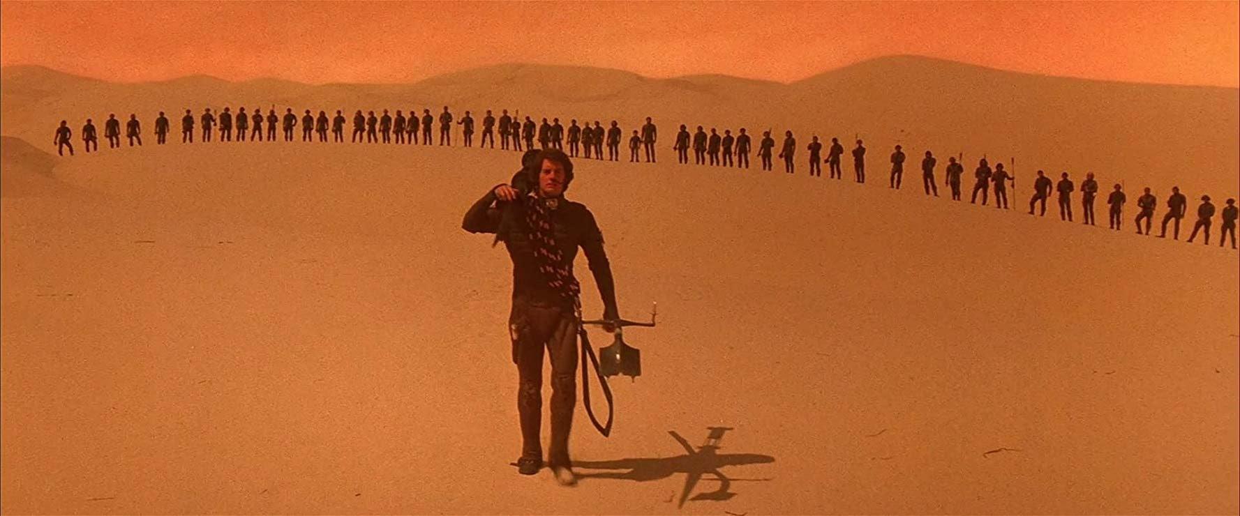 Kyle McLachlan in 1984's Dune