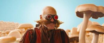 Jim Carrey as Robotnik in 'Sonic the Hedgehog'