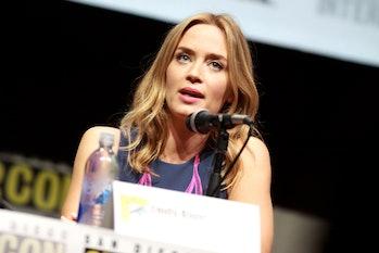 Emily Blunt Captain Marvel